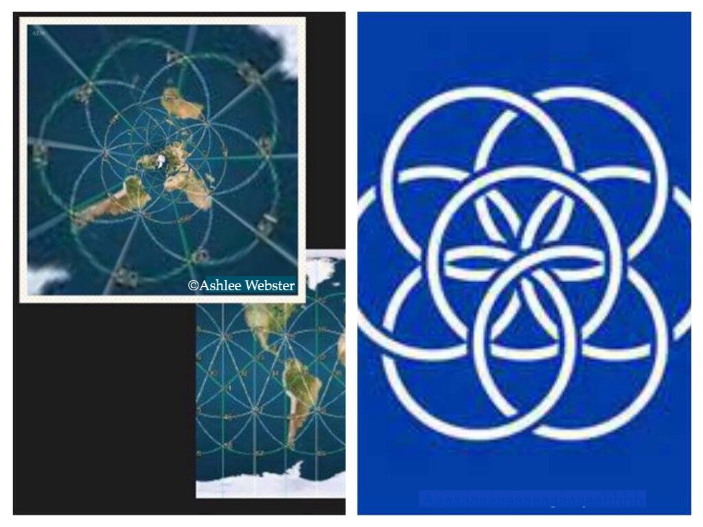 Ley lines on the flat earth – Flat Geocentric Earth